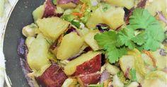 Padellata di fave e patate dolci http://www.delizieeconfidenze.com/2017/03/padellata-di-fave-e-patate.html