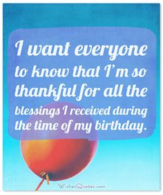 A wonderful collection of birthday thank you messages. Show your appreciation to everyone who sent you wishes or gifts on your birthday. Thank You Messages For Birthday, Birthday Wishes For Her, Happy Birthday Wishes Quotes, Birthday Thanks, Birthday Poems, Birthday Blessings, Birthday Greetings, Thank U Message, Thank You Messages Gratitude