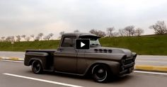 BAD TO THE BONE 1958 CHEVY APACHE PICK UP TRUCK
