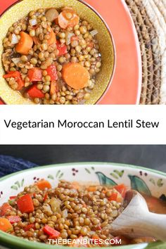 Best Vegetarian Recipes, Vegetarian Entrees, Chickpea Recipes, Lentil Recipes, Bean Recipes, Lunch Recipes, Delicious Recipes, Soup Recipes, Healthy Recipes