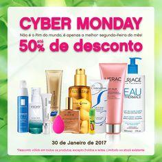 Cyber Monday + Saldos Aproveitem os descontos até 50%!