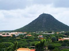 Mount Hooiberg, Aruba, can't believe i've stand on top of this.