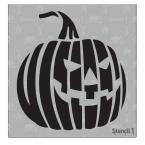 Stencil1 Jack-O-Lantern Evil Small Stencil