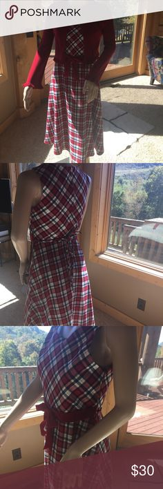Girls dress with cover-up Great condition, daughter wore once at Christmas. Bonnie Jean Dresses