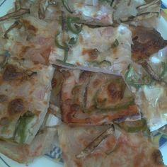 #pizza #casera #vegetal #goodfood #spain #villena #Alicante