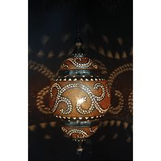 Oosterse hang lamp uit India