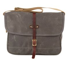 Messengers bags are pretty cool when you're going for the young Indiana Jones thing.