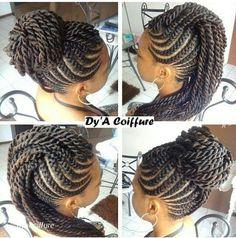 Braid Styles for Long Hair – Lavish Braids African Hairstyles, Girl Hairstyles, Braided Hairstyles, Feed In Braids Hairstyles, Senegalese Twist Hairstyles, Natural Hair Care, Natural Hair Styles, Twisted Hair, Beautiful Braids