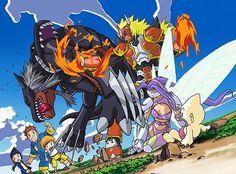 """119 Me gusta, 1 comentarios - Digimon (@digimonoficial) en Instagram: """"Frontier #digimon"""""""