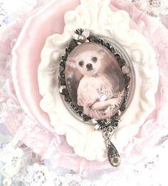 """Broche Rétro Vintage """"Petit Chihuahua"""" : Broche par ysabell"""