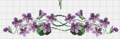 This Pin was discovered by Kat Cross Stitch Borders, Cross Stitch Flowers, Cross Stitch Designs, Cross Stitching, Cross Stitch Embroidery, Hand Embroidery, Cross Stitch Patterns, Embroidery Designs, Bordados E Cia