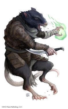 I recently did some character artwork for the new Pathfinder: Skulls and Shackles Adventure Path Pawn Collection. Fantasy Races, Fantasy Rpg, Medieval Fantasy, Character Concept, Character Art, Character Design, Dnd Characters, Fantasy Characters, Rat Man