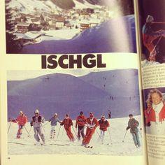 Häng med oss till Ischgl i vinter! Lovar att det inte är så platt som det ser ut på den härliga katalogbilden från 88... :D #stsalpresor #tbt #throwbackthursday #ischgl #alperna #österrike #snyggabrallor #gårdagensoutfit #80s