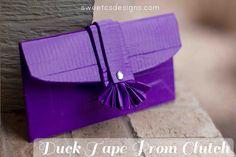 Duck Tape® Clutch – get #stuckatprom ! | Sweet C's Designs