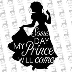 Snow White Dream, Disney, Digital File, SVG, DXF, EPS, for use with Silhouette Studio and Cricut Design Space