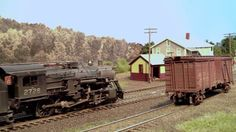The Cheshire Branch HO scale Boston & Maine Model Railroad by Modeler Ji...