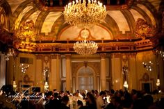 Letizia & Dave's Reception Ballroom!! Truffles Catering at the Historic Belvedere- Baltimore Wedding Venue, Wedding Ceremony & Reception Venue, Maryland - Baltimore and surrounding areas