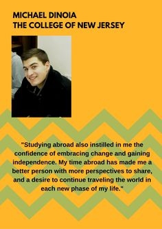 """Many students describe their study abroad experiences as """"wonderful"""" and """"life-changing"""" but how do you speak intelligently about the skills, knowledge, and experience you gained to potential employers?  Through the integrated International Career Seminar you will learn how to distinguish yourself in the job market."""