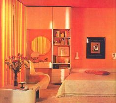 Domestic Interior IV (from Golden Homes Part 14, Marshall Cavendish, 1972)