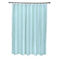 e by design Striped Shower Curtain | AllModern