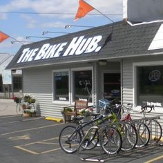 The Bike Hub - 14 Fun Places to Visit Along The Fox River Trail in Brown County!