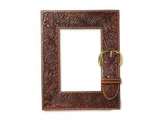 Belt It in 10 Things to Do With a Plain Picture Frame from HGTV
