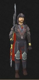 After a long delay while I built my 'qualifications', the Mortytania Legs 4 are finally mine!  Most of the task list wasn't that hard, but I needed to max all the characters from Temple Trekking/Bhurg de Rott.  Not to mention taking my Farming from 80, to at least 87.  (Farming is my least favorite skill...)    Monique was in a similar situation- she needed to max the Temple/Burg mini-game, and to raise her fishing to 91.  Fishing is much simpler, so we both assumed she'd get done much…
