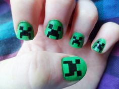 Creeper (Minecraft) nails