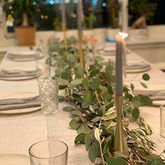 Seeded Eucalyptus And Silver Dollar Eucalyptus Garland, Fresh Eucalyptus Garland, Aisle Runners, Rustic Wedding Decor, Greenery Garland Rustic Centerpieces, Wedding Centerpieces, Wedding Bouquets, Wedding Flowers, Wedding Decorations, Eucalyptus Garland, Seeded Eucalyptus, Aisle Runner Wedding, Greenery Garland