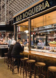 Bar Boqueria   Mercat de la Boqueria Barcelona. Tarruella Trenchs Studio