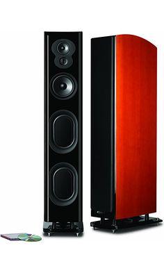 Polk Audio LSiM 707 Loudspeaker (Mt. Vernon Cherry, Each) Best Price