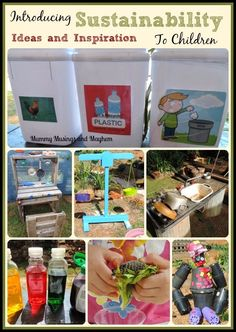 Sustainability to Children.Ideas and Inspiration Introducing sustainability practices to toddlers and preschoolers.see more at Mummy Musings and Introducing Introducing or Introducing. Sustainability Education, Sustainability Projects, Environmental Education, Education Jobs, Environmental Issues, Education Quotes, Learning Activities, Kids Learning, Activities For Kids