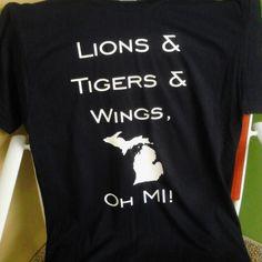 Michigan sports t-shirt from Nature's Corner