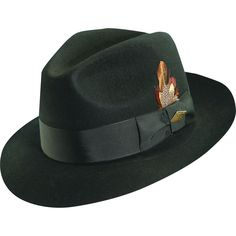 45bc2509a0f Stacy Adams Cannery Row Wool Fedora Hat