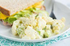 Recipe: Low-Carb Cauliflower 'Potato' Salad   Skinny Mom