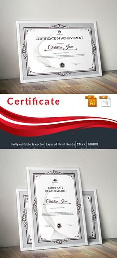 #Certificate - Certificates Stationery Download here: https://graphicriver.net/item/certificate/19578887?ref=alena994