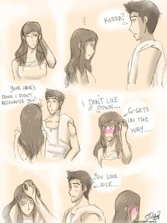 Okay, I'm not much for Makorra, but this is pretty cute