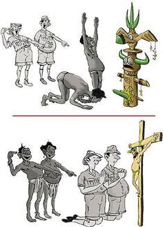 Religion... It all makes me laugh.