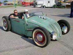 #Volksrod - Man, that's cool. #Custom #HotRod #Style #Design #Classic