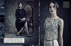 Dolce and Gabbana Alta Moda before you kill us all: EDITORIAL Vogue Italia September 2012
