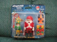 a Lot 20 PCS Playmobil Vintage Geobra People Toy 7CM Figures & Animal Christmas #PLAYMOBIL