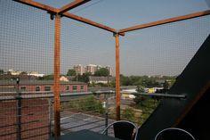 Komplett offenen Balkon ohne Bohren vernetzen - Bilder gesucht! - Seite 2 - Katzen Forum