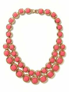 Pink necklace!