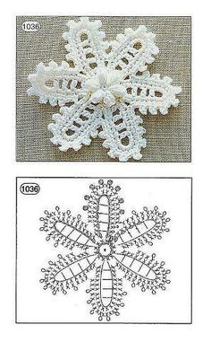 Irish crochet flower chart tutorial by tonya perich Filet Crochet, Beau Crochet, Crochet Motifs, Crochet Diagram, Freeform Crochet, Crochet Chart, Crochet Doilies, Crochet Lace, Diagram Chart