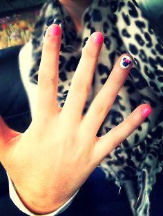 Mini mouse nails(: