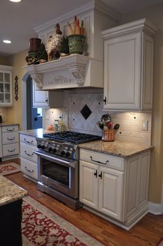 The Thrifty Gypsy: Home Tour Part 6&7~ Kitchen and Keeping room