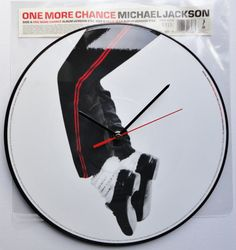 What better way to celebrate Daylight Savings Time than with a clock made out of a Michael Jackson record.