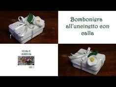 bomboniera all'uncinetto con calla tutorial (parte 1) - YouTube