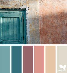 { color wander } image via: @arasacud  #color #palette #colorpalette #pallet #colour #colourpalette #design #seeds #designseeds
