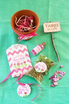 DIY: Fairy Garden Kit | http://adventures-in-making.com/diy-fairy-garden-kit/ #fairy #favor #birthday